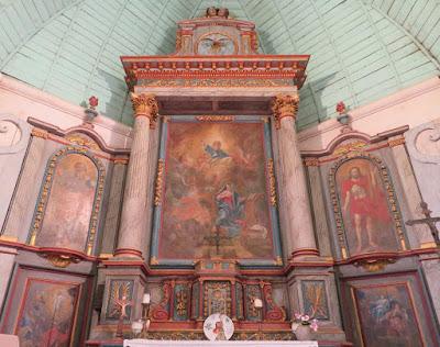 maître autel église de corny 27