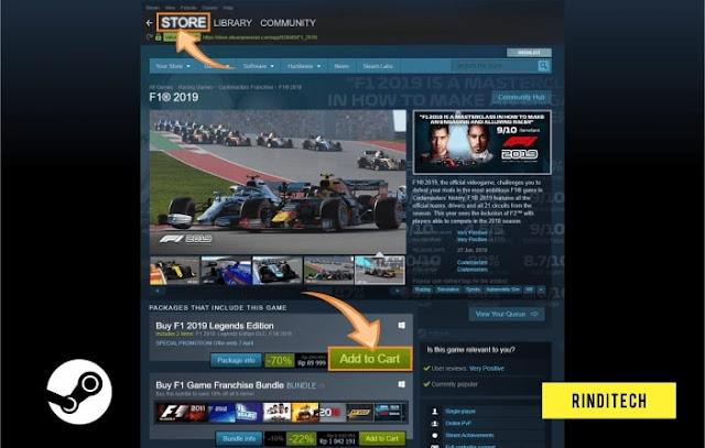 Cara Membeli Game di Steam Online dengan Kartu Jenius