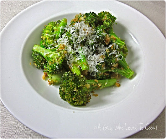 Roasted Broccoli Bits