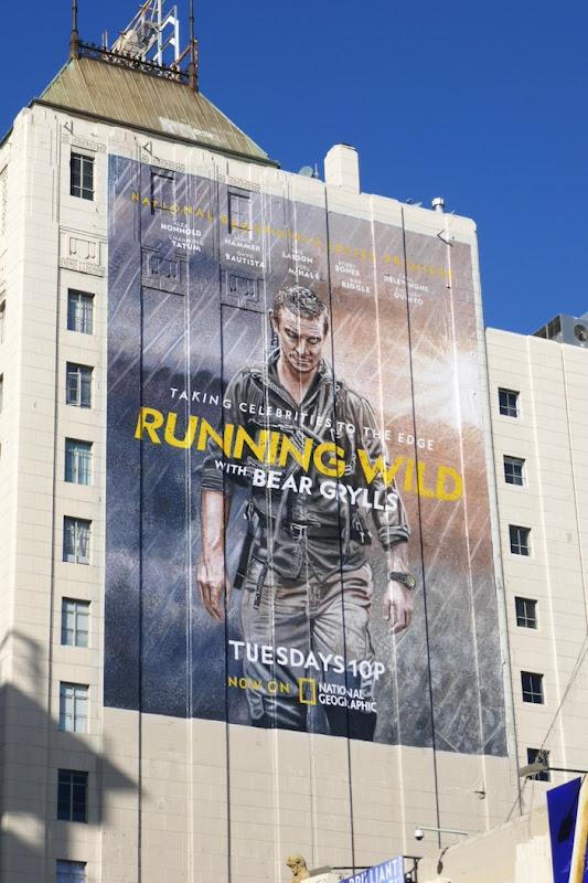 Running Wild Bear Grylls season 5 billboard