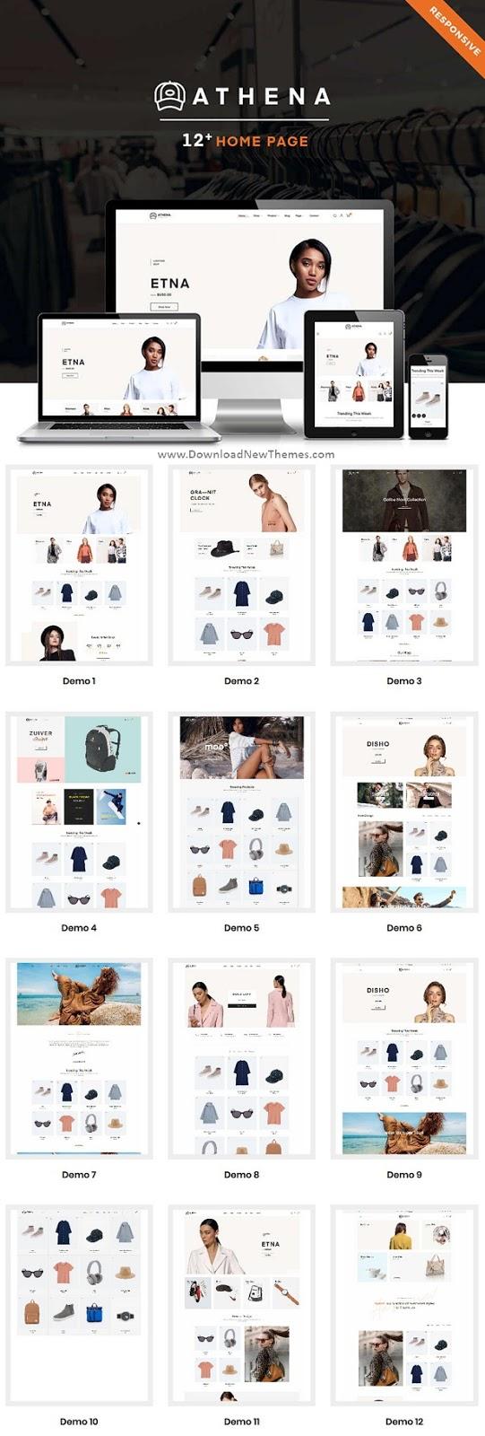 Fashion Store Prestashop Theme