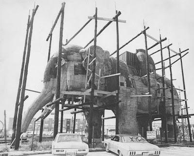 La reconstrucción de Lucy the Elephant