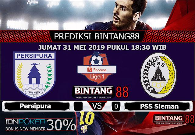 PREDIKSI Persipura vs PSS Sleman 31 MEI 2019
