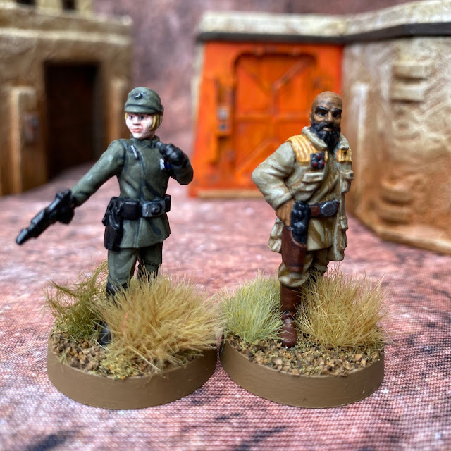 Star Wars Legion: Rebel and Imperial Officers