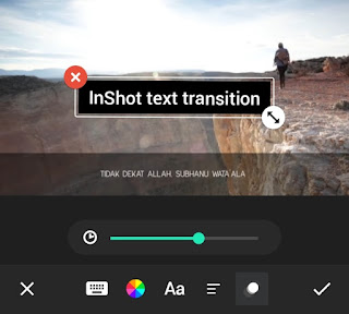 set text transition duration
