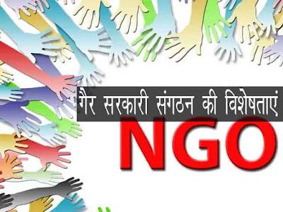 गैर-सरकारी संगठन की विशेषताएं   Characteristics of NGO
