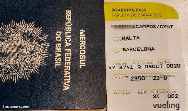Documentos para brasileiros viajarem a Malta