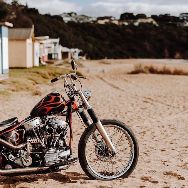Harley Davidson Panhead By Corey Iles Hell Kustom