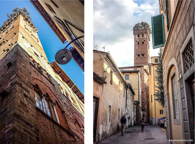 Torre Guinigi, Lucca, Toscana, Itália