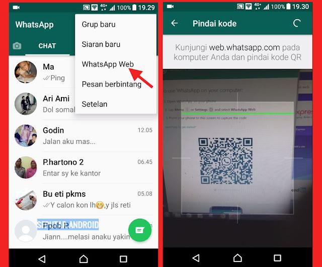 Cara Buka Whatsapp Dari Komputer PC/Laptop Dengan Mudah Tanpa Ribet Via Opera Mini