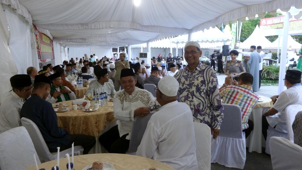 Ramadan, Polres Undang Tokoh Masyarakat Buka Bersama