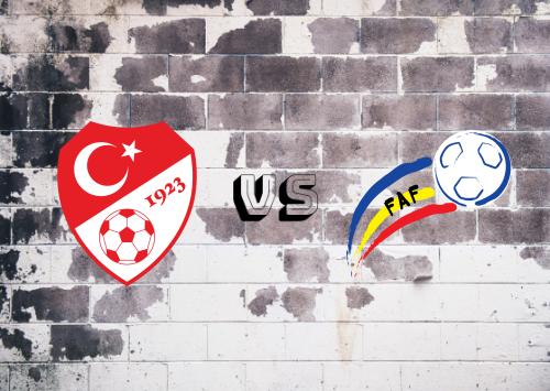 Turquía vs Andorra  Resumen