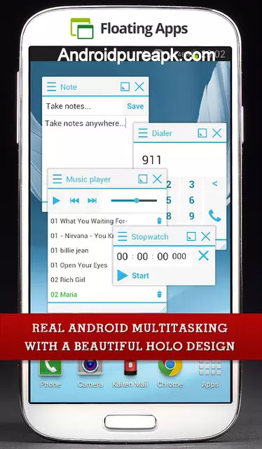 floating apps multitasking pro