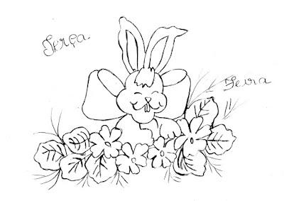semaninha de coelhos e flores terça feira
