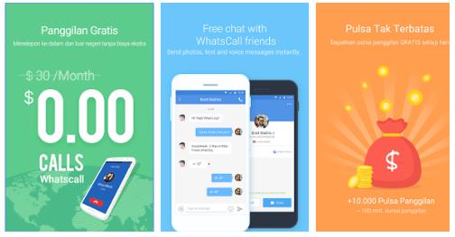 Free Whast Call | Aplikasi Nelpon Gratis Untuk Semua Jenis Ponsel | Install Now