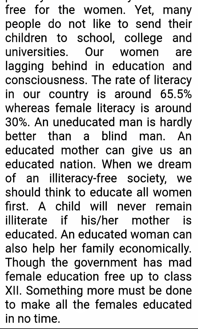 female education paragraph, paragraph on girl education, importance of female education paragraph, female education paragraph for hsc, women education paragraph, female education paragraph 150 words, female education paragraph 200 words, female education paragraph hsc, the importance of female education paragraph, girl education essay 150 words, girl education paragraph in english, paragraph importance of female education, female education paragraph 100 words, paragraph on education for women, female education short paragraph, paragraph on importance of girl education