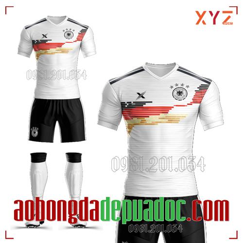 Áo Đức 2020 Training 2 Màu Trắng Đẹp Và Độc