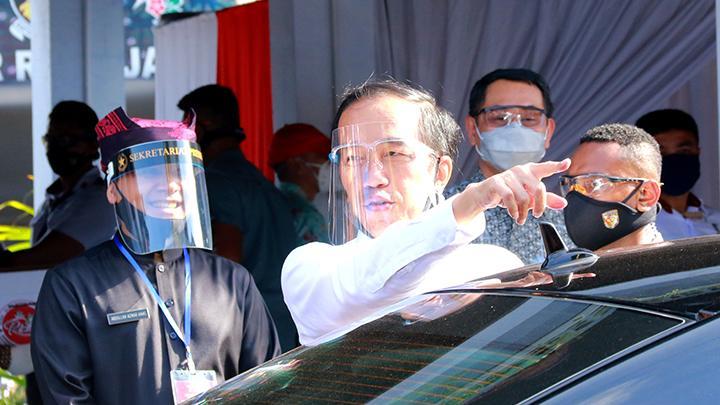 Presiden Klaim Corona Indonesia Lebih Baik dari Dunia