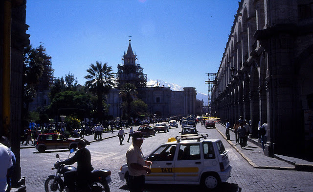 place d'Armes Arequipa