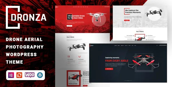 Best Drone Aerial Photography WordPress Theme