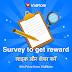 Vidmate survey to win paytm cash