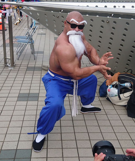 Pria Ini Sangat Mirip dengan Karakter Kakek-kakek di Anime Dragon Ball, Siapa Dia?