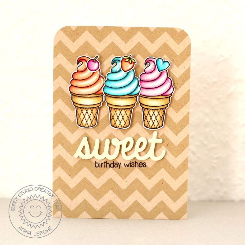 Sunny Studio: Sweet Shoppe: Sweet Birthday Wishes By Anni
