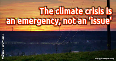 The climate crisis is an emergency, not an 'issue'. Read the full article by Mark Hertsgaard @Columbia Journalism Review. Carbon offsetting is vital to your cleaner, greener business and lifestyle. Make your website and lifestyle carbon-neutral first, by a self-service carbon offsetting at https://en.zeroco2.cf/blog/ Tags: Self-service carbon offset, Carbon-neutral website, Carbon-neutral lifestyle, Carbon Footprint Calculator
