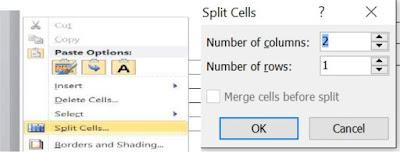 tinhoccoban.net - Hộp hội thoại Split Cells
