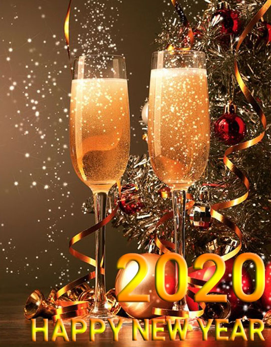 Happy New Year 2020 Whatsapp DP 2