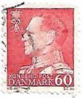 Selo Rei Frederico IX, valor 60