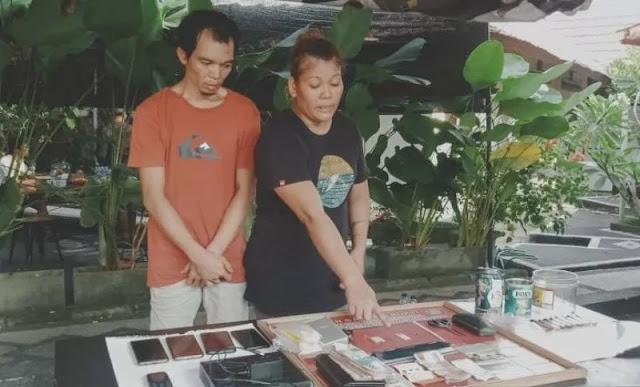 Sepasang Suami Istri berhasil di Bekuk di Gili Trawangan
