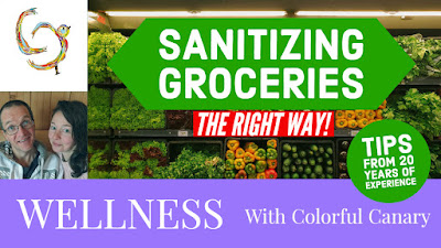 How to sanitize groceries
