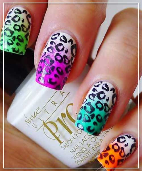 25 Animal Print Cute Nail Designs will Make You be Inspired