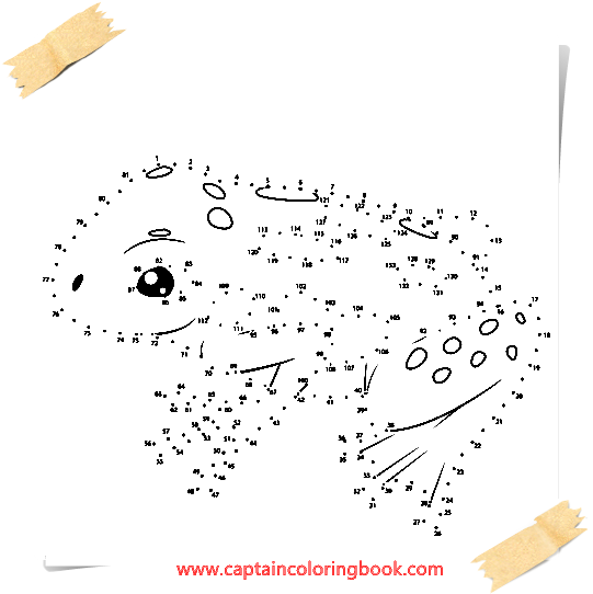 Dot to dots Educations coloring Page Free-Punkt zu Punkten ...