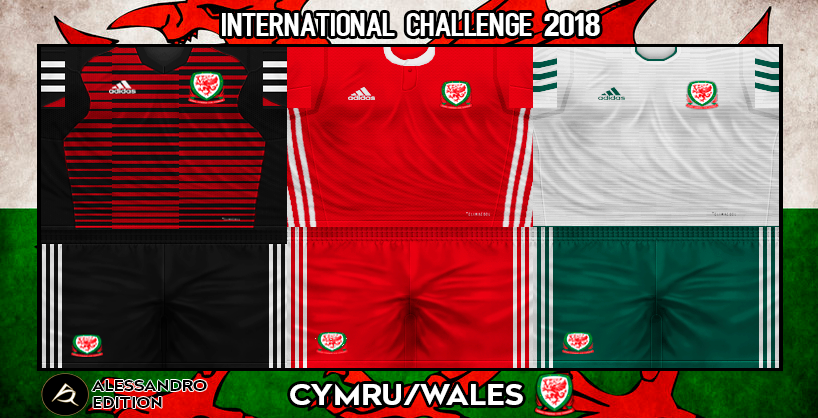 check out 750b4 82cf9 PES 6 Kits Wales National Team Season 2018/2019 by ...