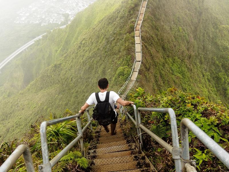 Haiku Stairs, Hawaii - The Stairway to Heaven