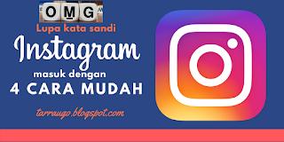 lupa kata sandi instagram nomor hp hilang tanpa email dan facebook