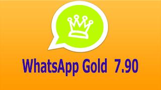 تحميل تطبيق الوات ساب الدهبي النسخة الاخيرة wattsapp gold v 7.90 apk-تحميل واتس اب الذهبي 2019 ضد الحظر