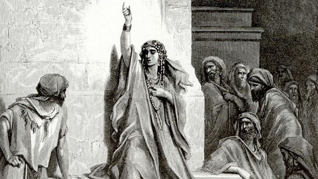 Como uma mulher enfrentou  o comandante dos exércitos do rei Davi