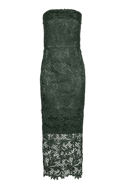 topshop green lace dress, green lace midi dress,