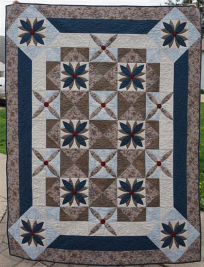 Seeds of Serenity Quilt Free Pattern