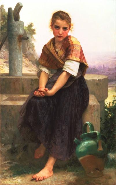 Адольф Вильям Бугро - Разбитый кувшин (1891)
