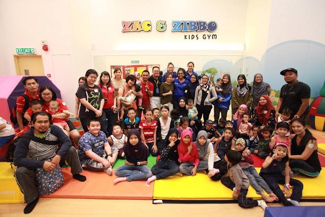 Gym Kanak-Kanak Zac & Zibbo Di The Parenthood Sunway Piramid