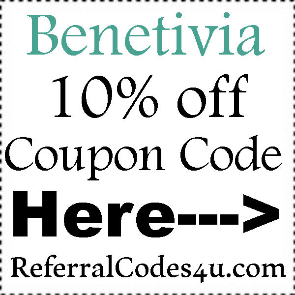 Benetivia Coupon Codes 2021, Benetivia 10% off & FREE Shipping Promo Code July, August, September
