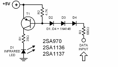 infrared-interface-circuit-diagram