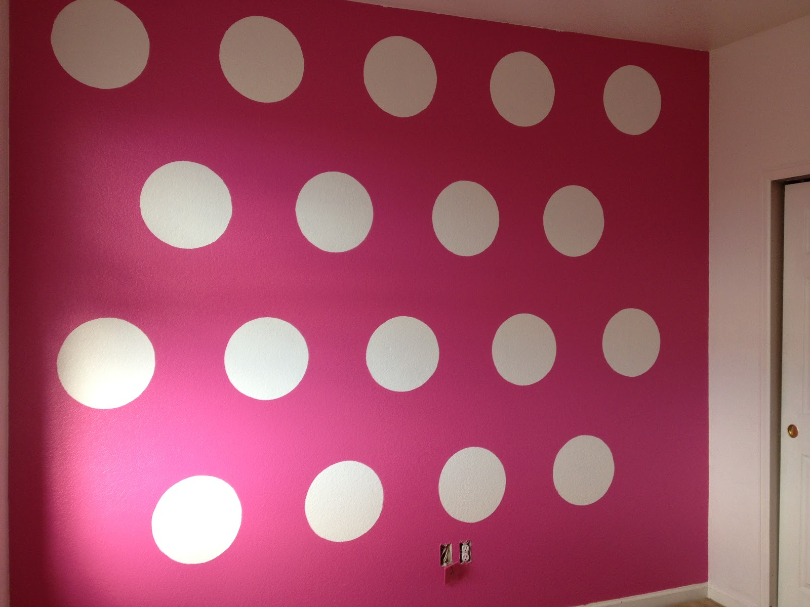 how to paint polka dots on bedroom walls - 28 images - big ...