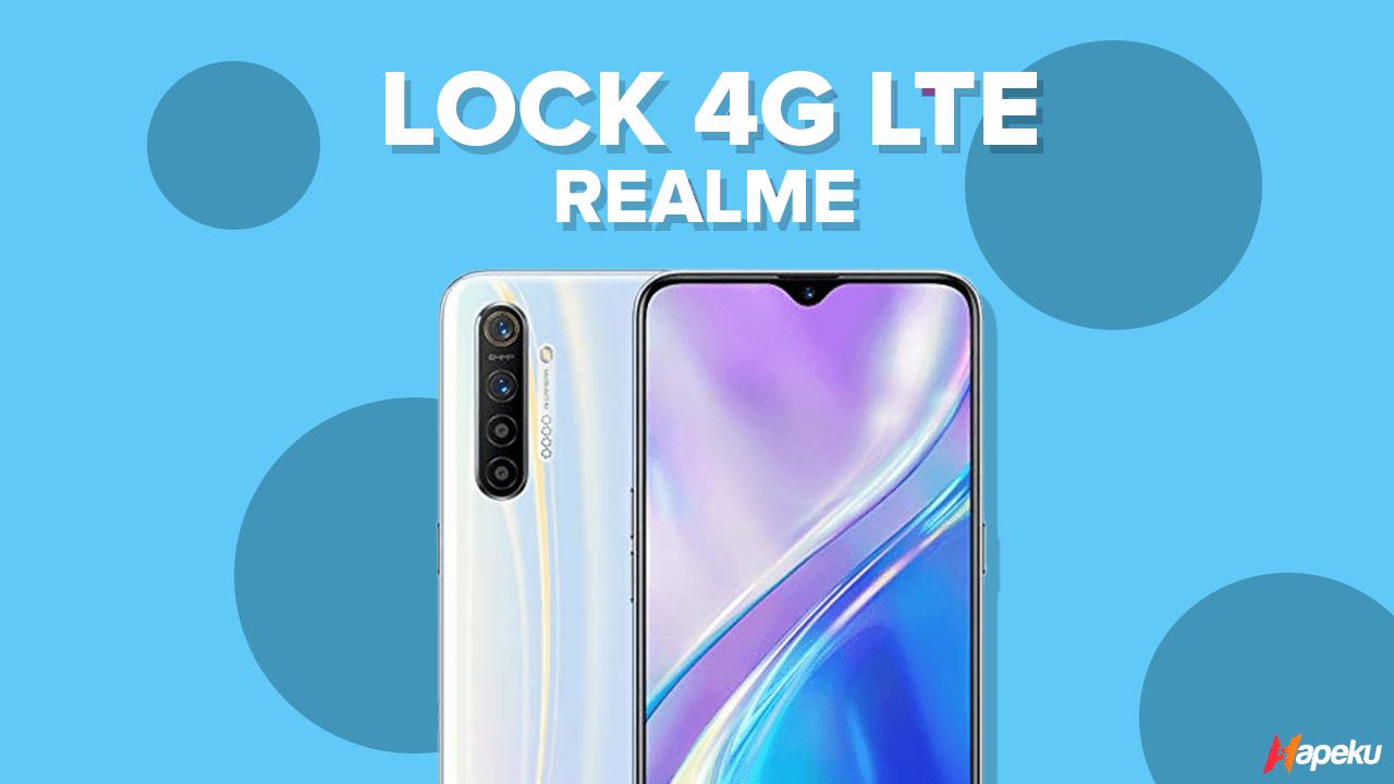 Cara Simple Lock 4G LTE pada Smartphone Realme