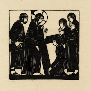 Eric Gill, Jesus Speaks with the Women of Jerusalem, 1917, photo (C) Tate