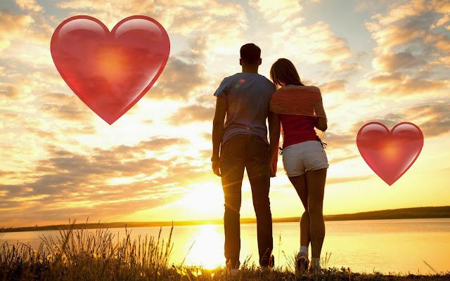 Hartjes liefde wallpaper